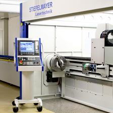 Stiefelmayer Combi Lasermaschine